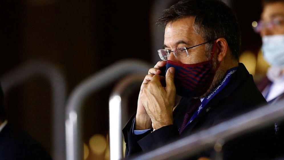 Foto: El presidente del FC Barcelona, Josep Maria Bartomeu. (EFE)