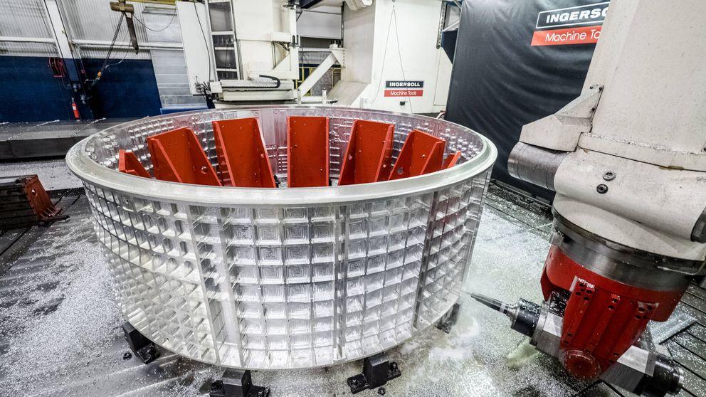 Así se construye la nave que nos llevará por primera vez a Marte