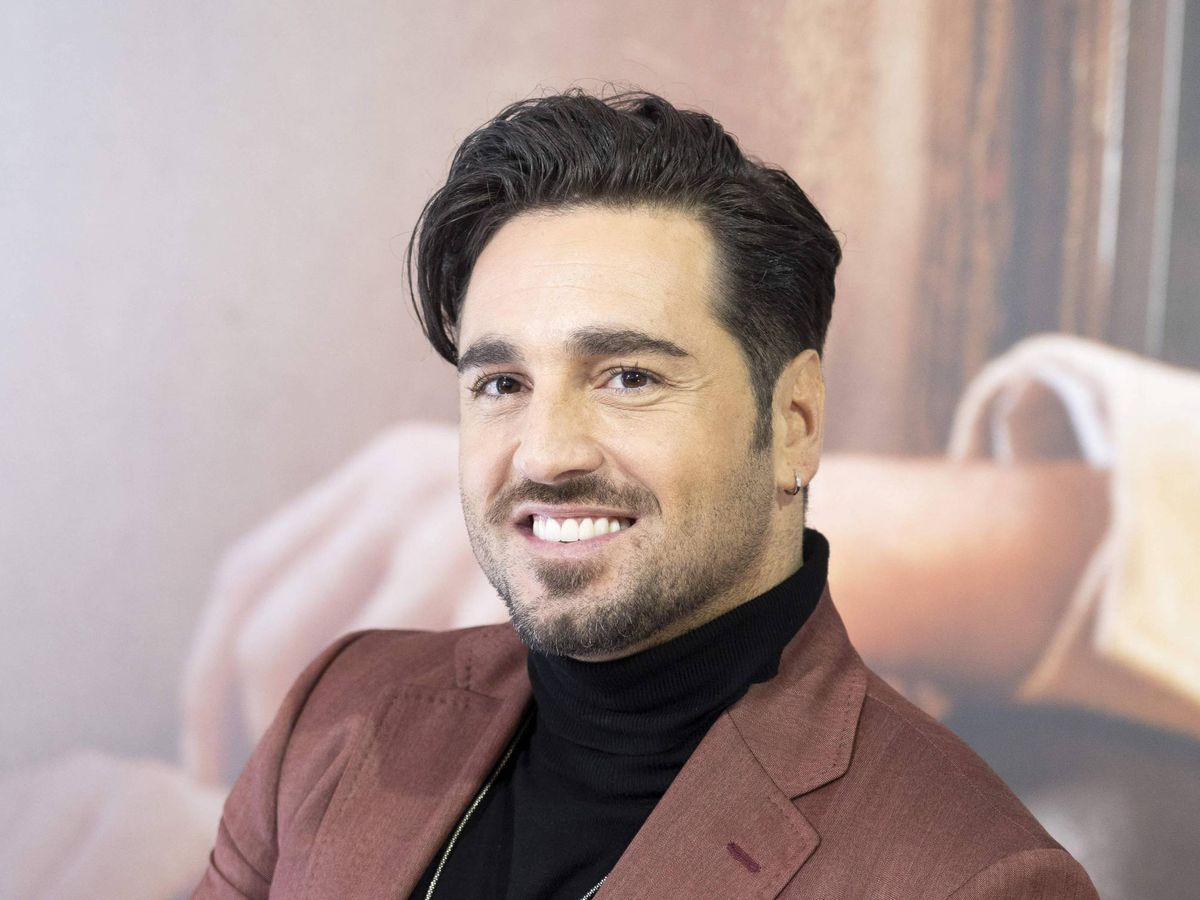 Foto: David Bustamante, durante la presentación de su último disco. (Cordon Press)