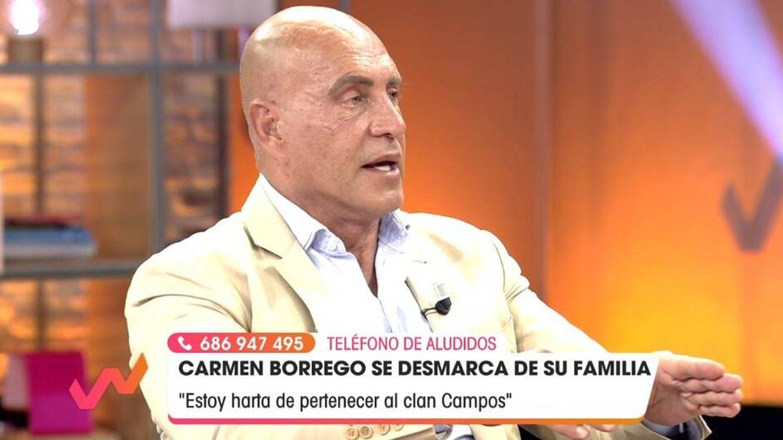 Kiko Matamoros, en 'Viva la vida'. (Telecinco).