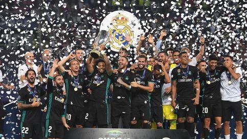 Las mejores imágenes de la final de la Supercopa entre el Real Madrid y el Manchester United