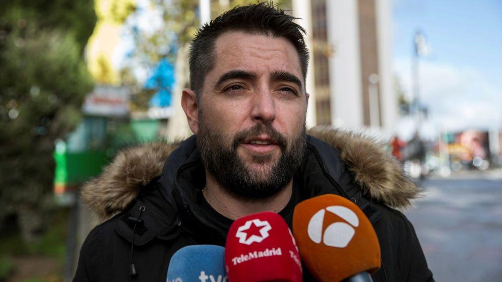Foto: Dani mateo, en la imagen a su llegada al juzgado. (EFE).