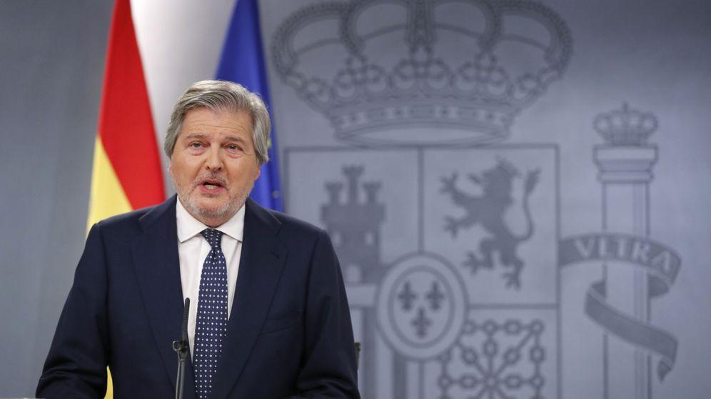 Foto: El portavoz del Gobierno, Íñigo Méndez de Vigo. (EFE)