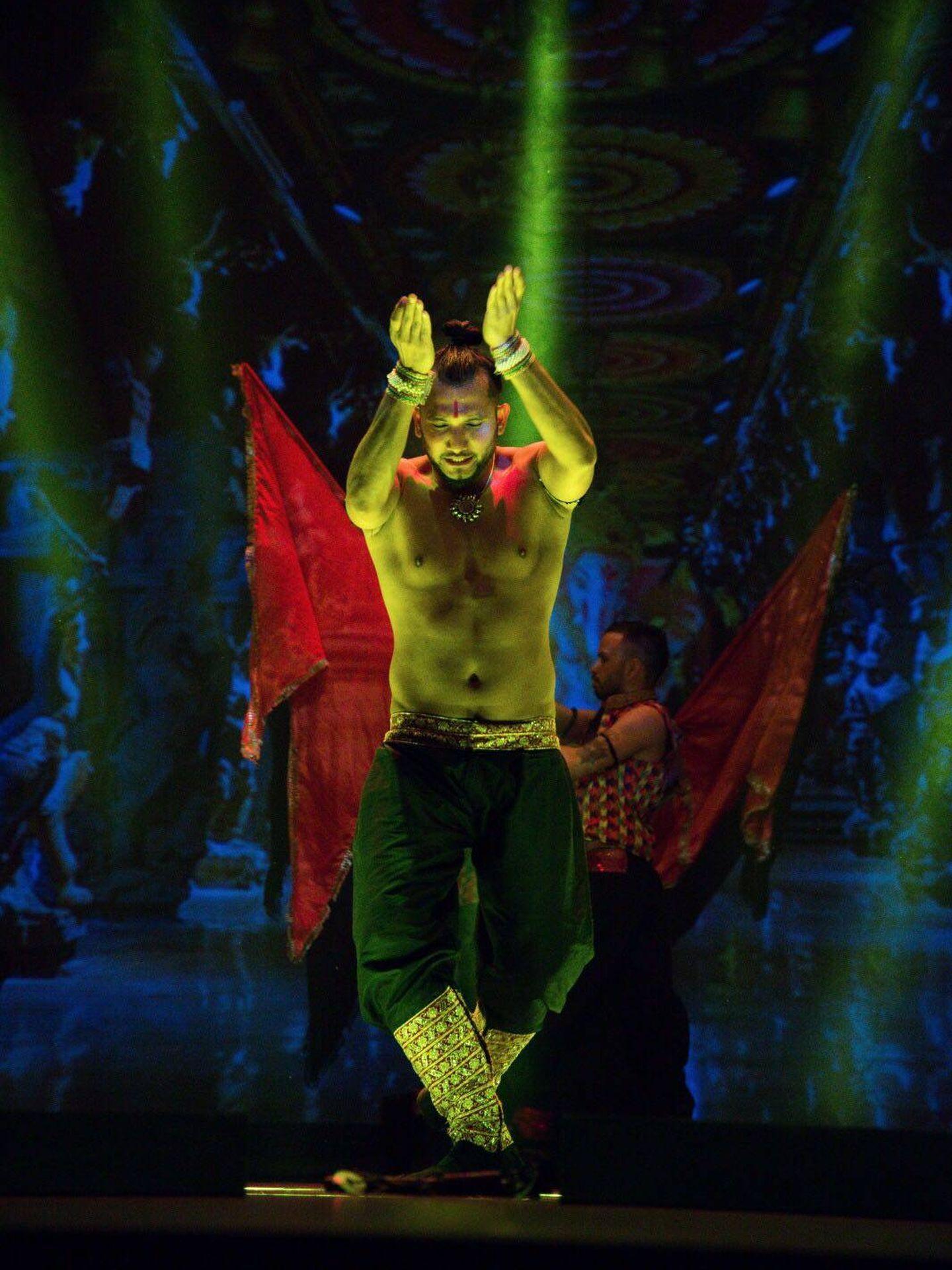 Sunny Singh se ha encargado de la coreografía del musical e interpreta el papel protagonista (Grupo Smedia)