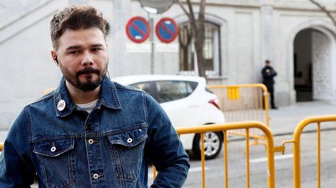 Rufián ya milita formalmente en ERC: Lo hago por las rejas con las que Junqueras amanece