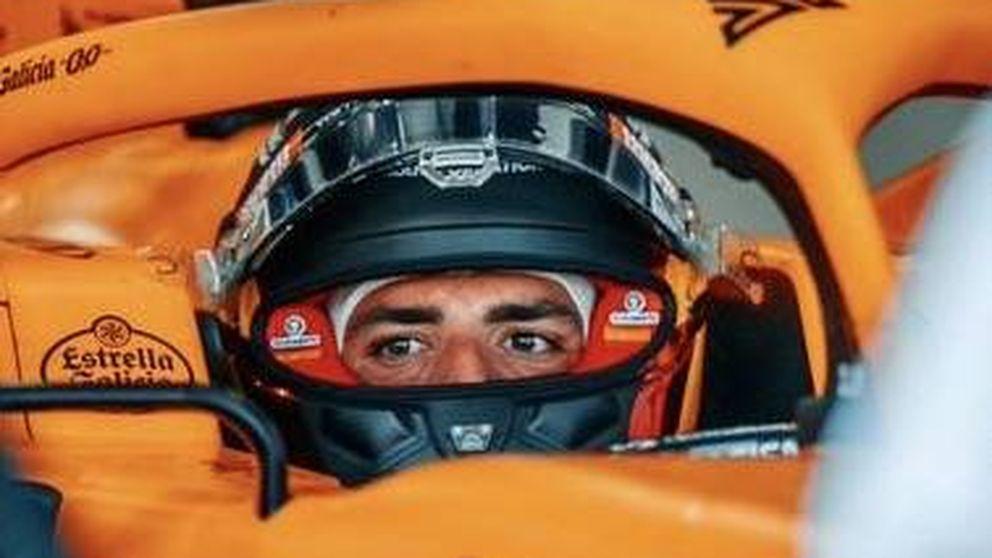 Carlos Sainz pone el dedo en la llaga de la F1: mantendrá todo el año su casco del covid