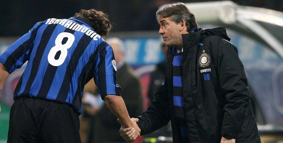 Foto: Roberto Mancini volverá a lucir su bufanda 'nerazzurra' con el Inter (Cordon Press).