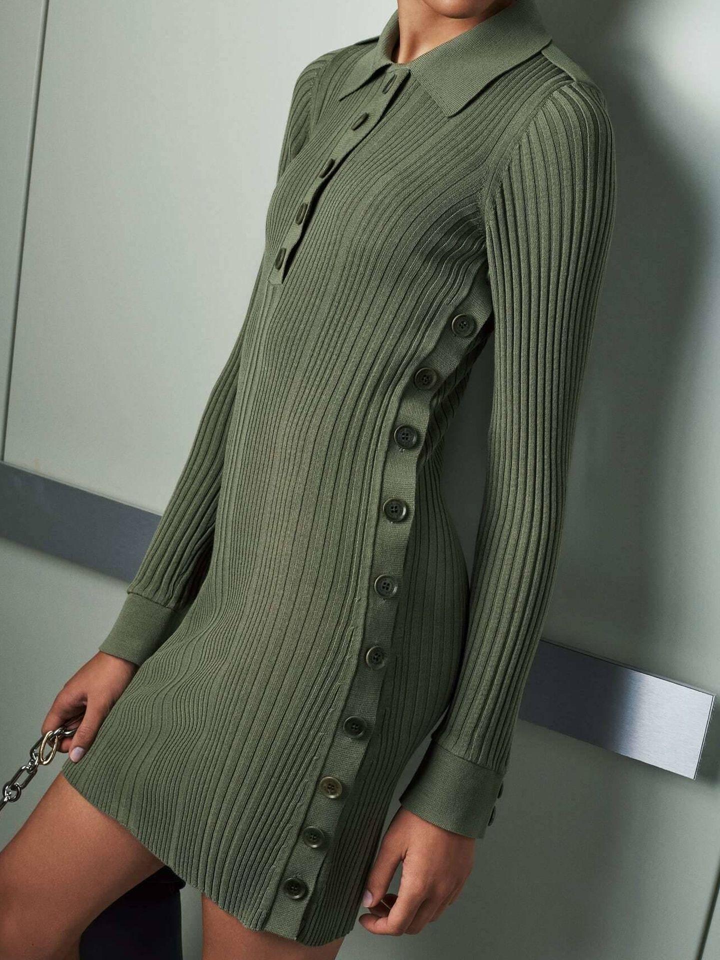 Un vestido de la nueva colección SRPLS de Zara. (Cortesía)