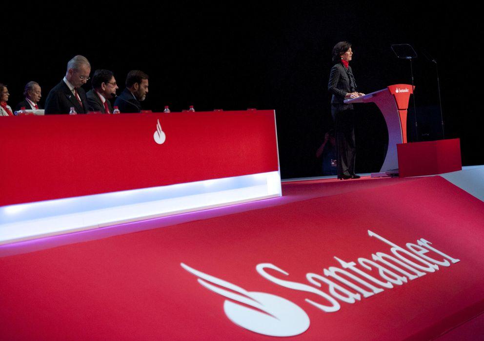 Foto: Imagen de la última Junta General de Accionistas de Santander