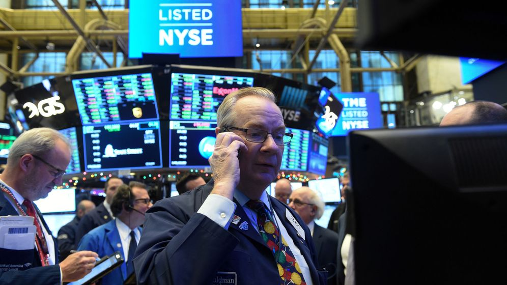 Foto: Un 'trader' de la Bolsa de Nueva York