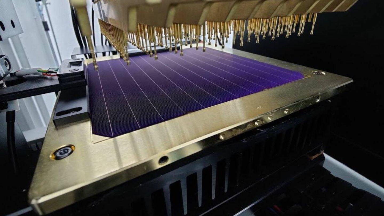 Estos paneles solares tienen un 25,54% de eficiencia. (SunDrive)