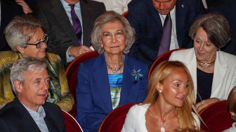 La angustia de la reina Sofía y su familia: el Palacio de Tatoi, acechado por el fuego
