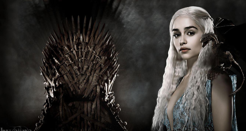 Foto: Daenerys cambia el trono de hierro por el de porcelana