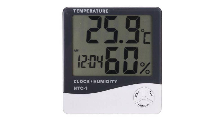 Pequeño medidor de temperatura y humedad