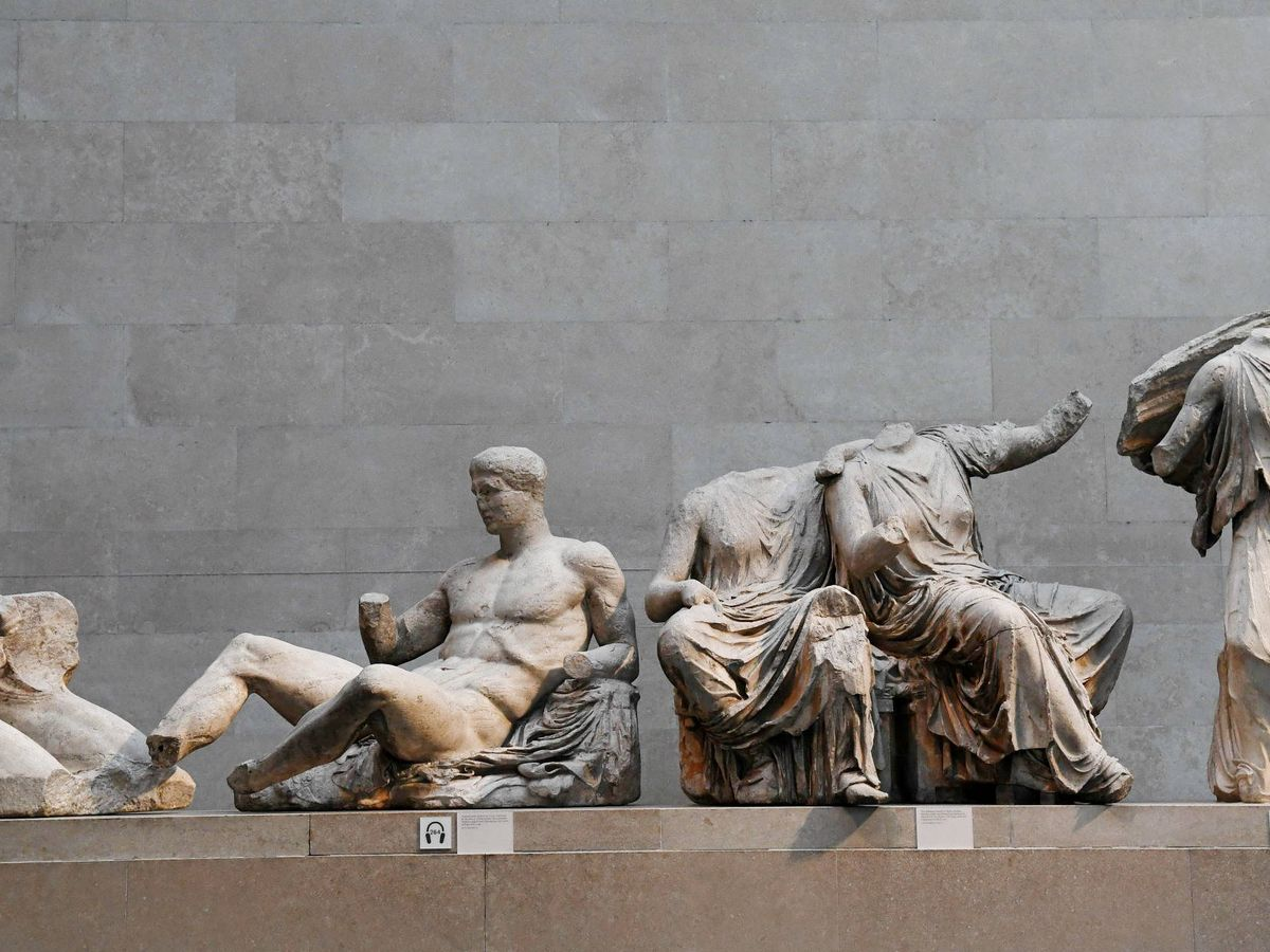 Foto: Mármoles del Partenón. (Efe)