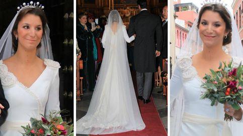 Todos los secretos del traje de novia de Casilda de Medinaceli