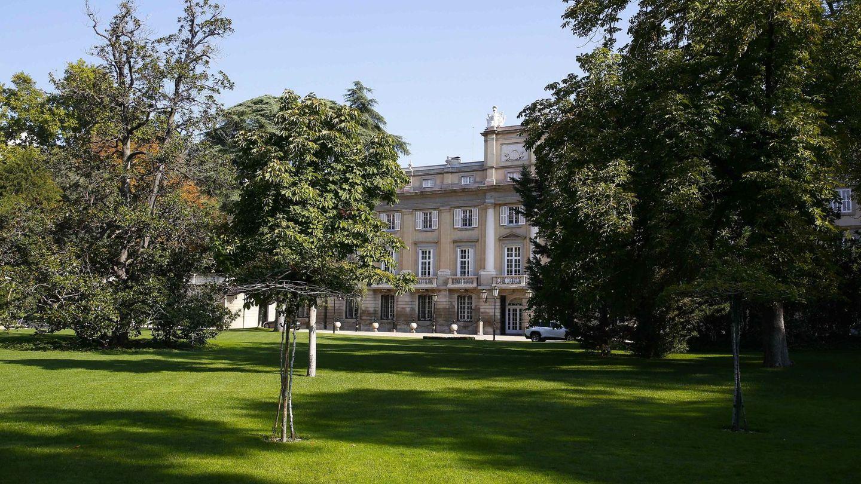 Los jardines del palacio de Liria donde tendrá lugar la celebración. (EFE)