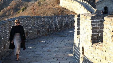Melania Trump visita la Gran Muralla china y GP de Brasil de Fórmula 1: el día en fotos