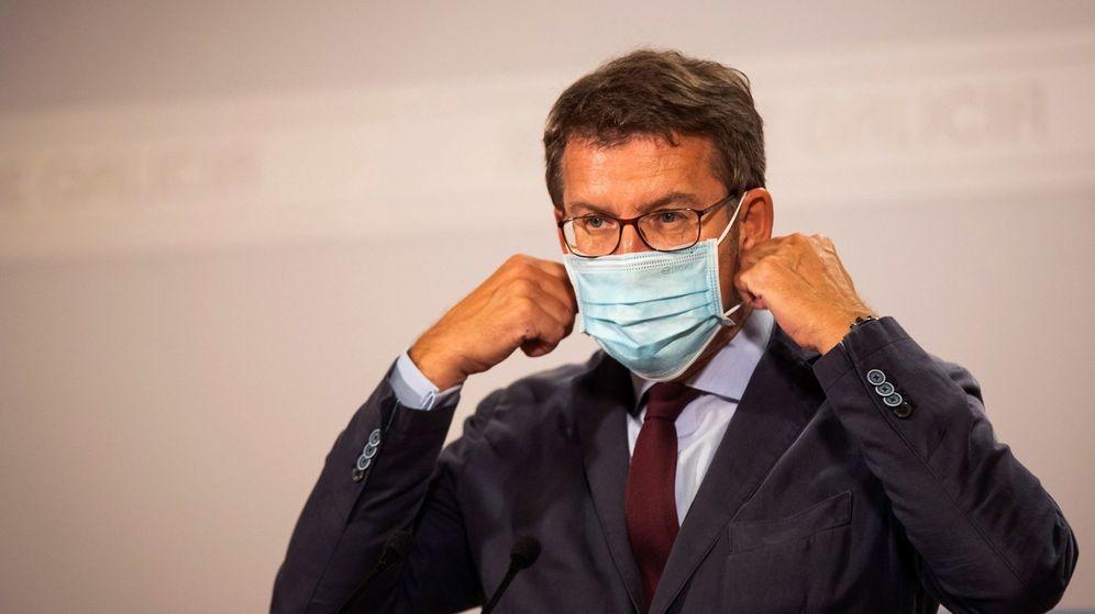 Foto: El Presidente de la Xunta de Galicia, Alberto Nuñez Fejióo. (EFE)