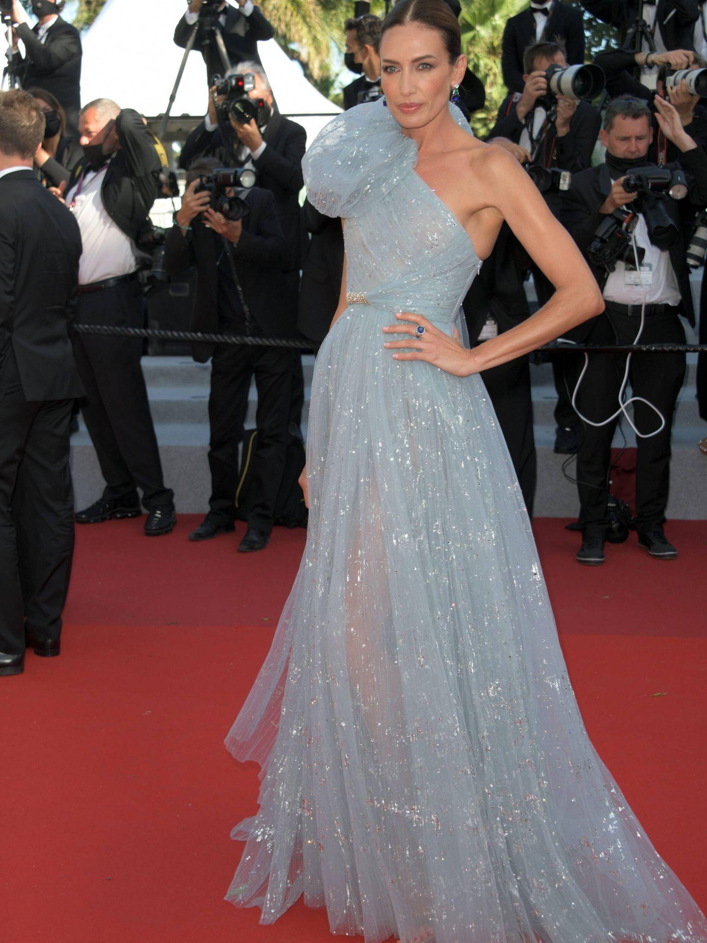Nieves Álvarez, en Cannes. (Cordon Press)