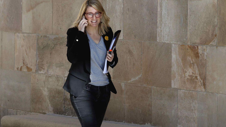 La 'consellera' de Presidencia y portavoz del Govern, Elsa Artadi. (EFE)