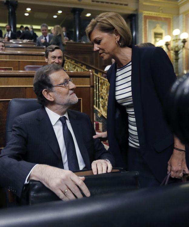 Foto: Mariano Rajoy y María Dolores de Cospedal. (EFE)