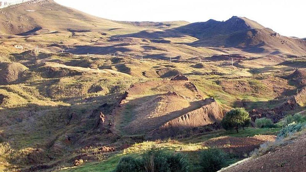 Foto: Zona en la que podría estar enterrada el Arca de Noé. (Wikimedia Commons)