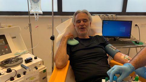 Andrea Bocelli tuvo coronavirus y dona su plasma para la investigación