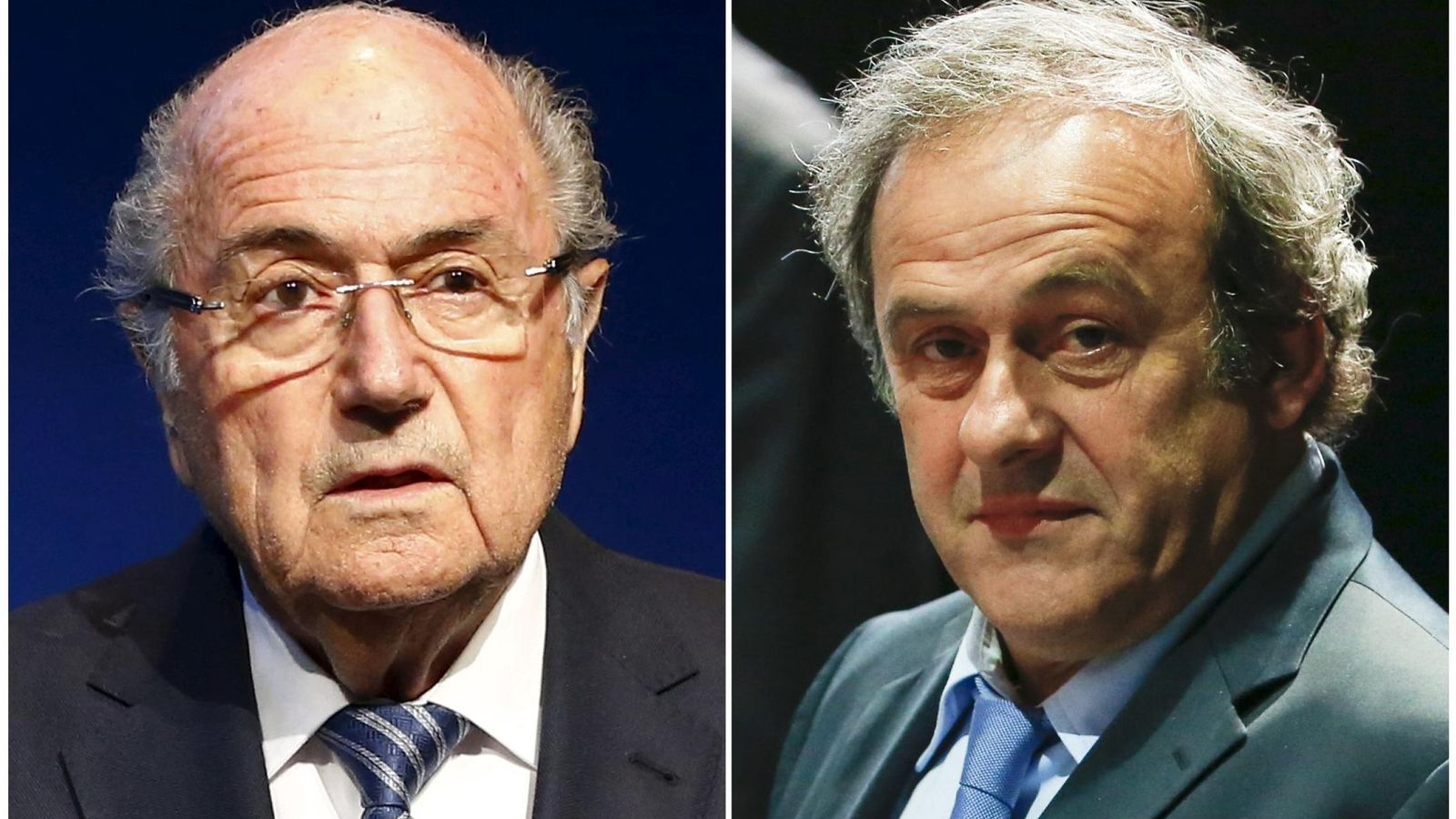 Foto: Joseph Blatter y Michel Platini conocerán sus sanciones en breve (Reuters).