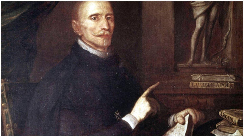 Retrato de Lope de Vega, autor anónimo. (Museo Lázaro Galdiano)