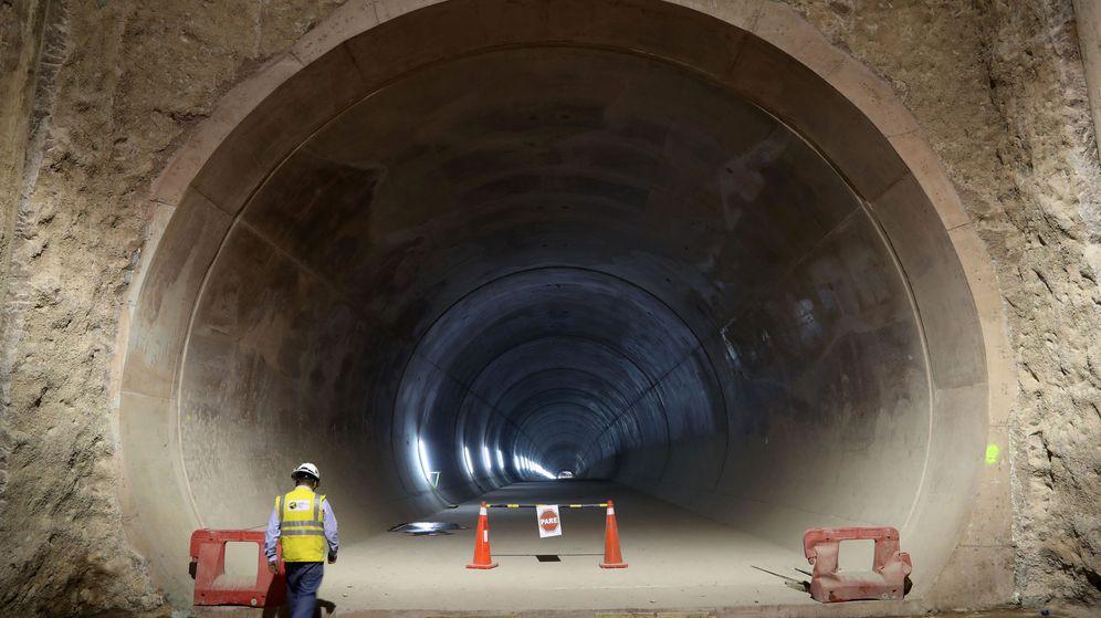 Foto: Construcción del metro de Lima