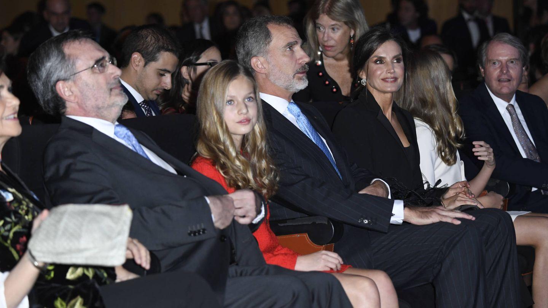La familia real, en el interior del Palacio de Congresos. (Limited Pictures)