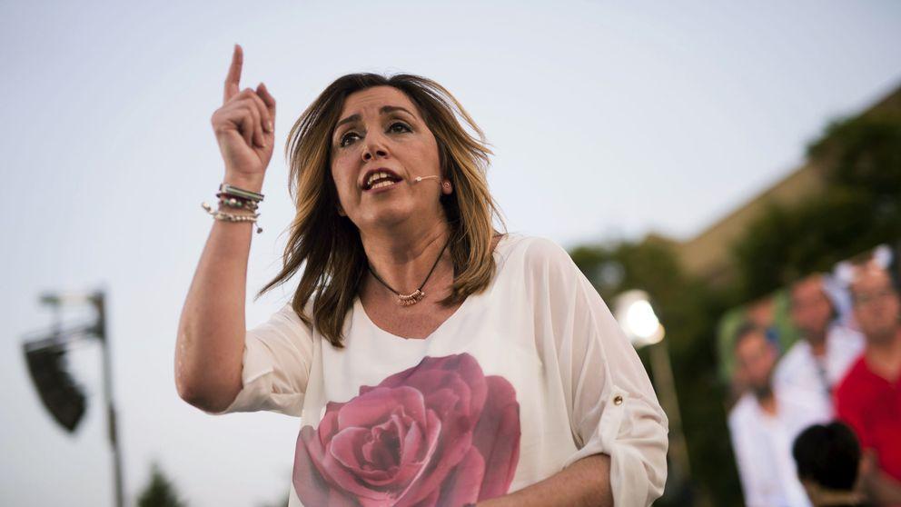 Susana Díaz cumple su primer año convertida en azote de Podemos
