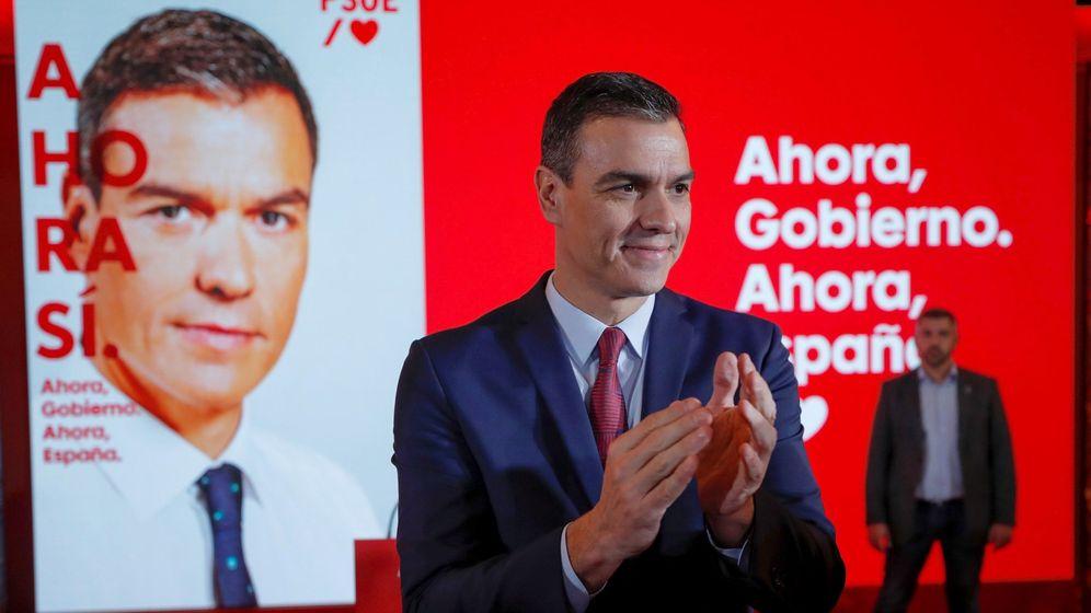 Foto: El presidente del Gobierno en funciones y candidato a la reelección por el PSOE, Pedro Sánchez. (EFE)