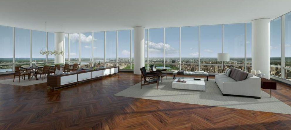 Mercado inmobiliario r cord en nueva york compran por 86 millones un apartamento en central - Pisos en new york ...