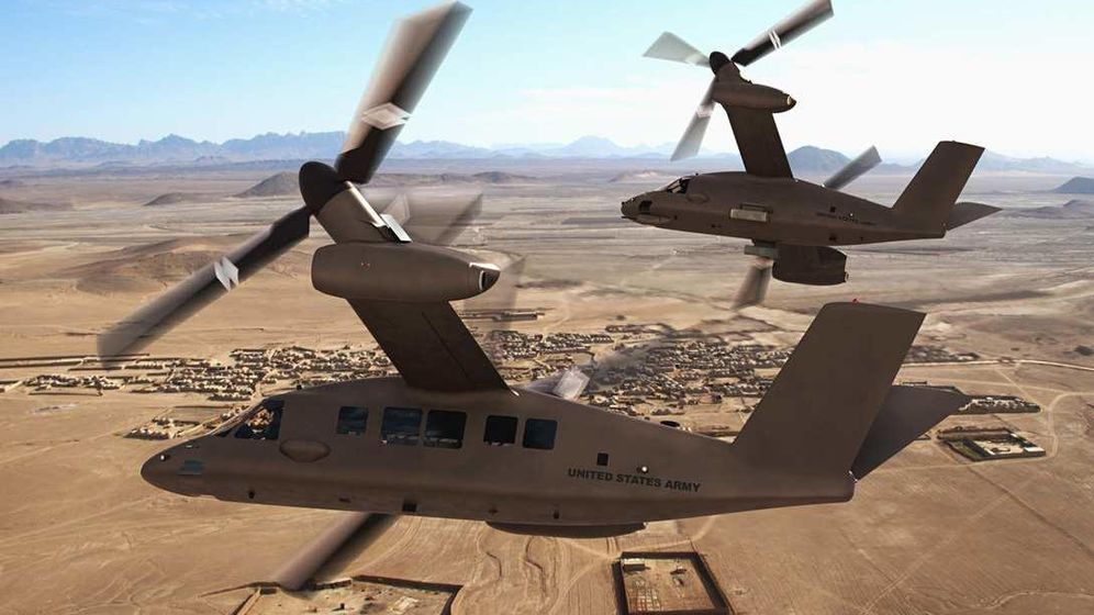 Foto: Diseño del V-280 Valor. (Bell Helicopter Textron)