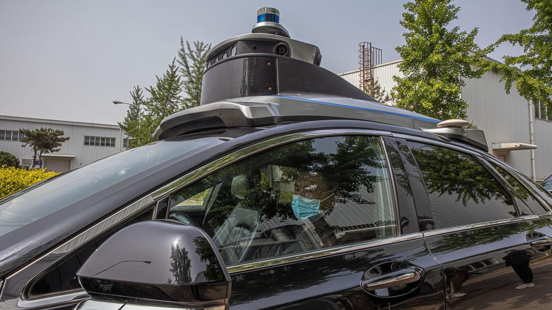 Un coche autónomo de la compañía china Baidu. (Reuters)