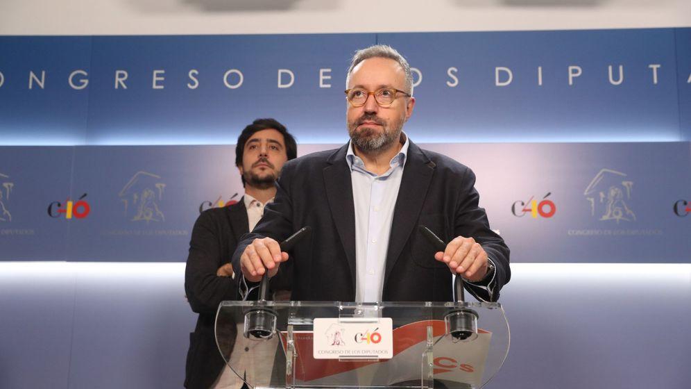 Foto: El portavoz de Ciudadanos en el Congreso de los Diputados Juan Carlos Girauta. (EFE?