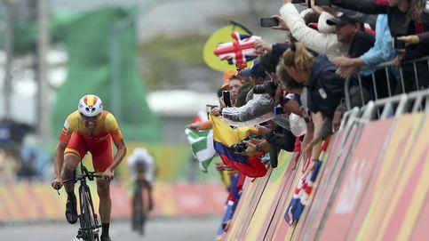 Jonathan Castroviejo, cuarto, se quedó a cuatro segundos de las medallas