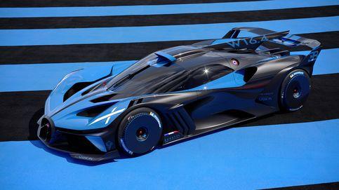 Bolide, la última locura de Bugatti con 1.850 CV de potencia