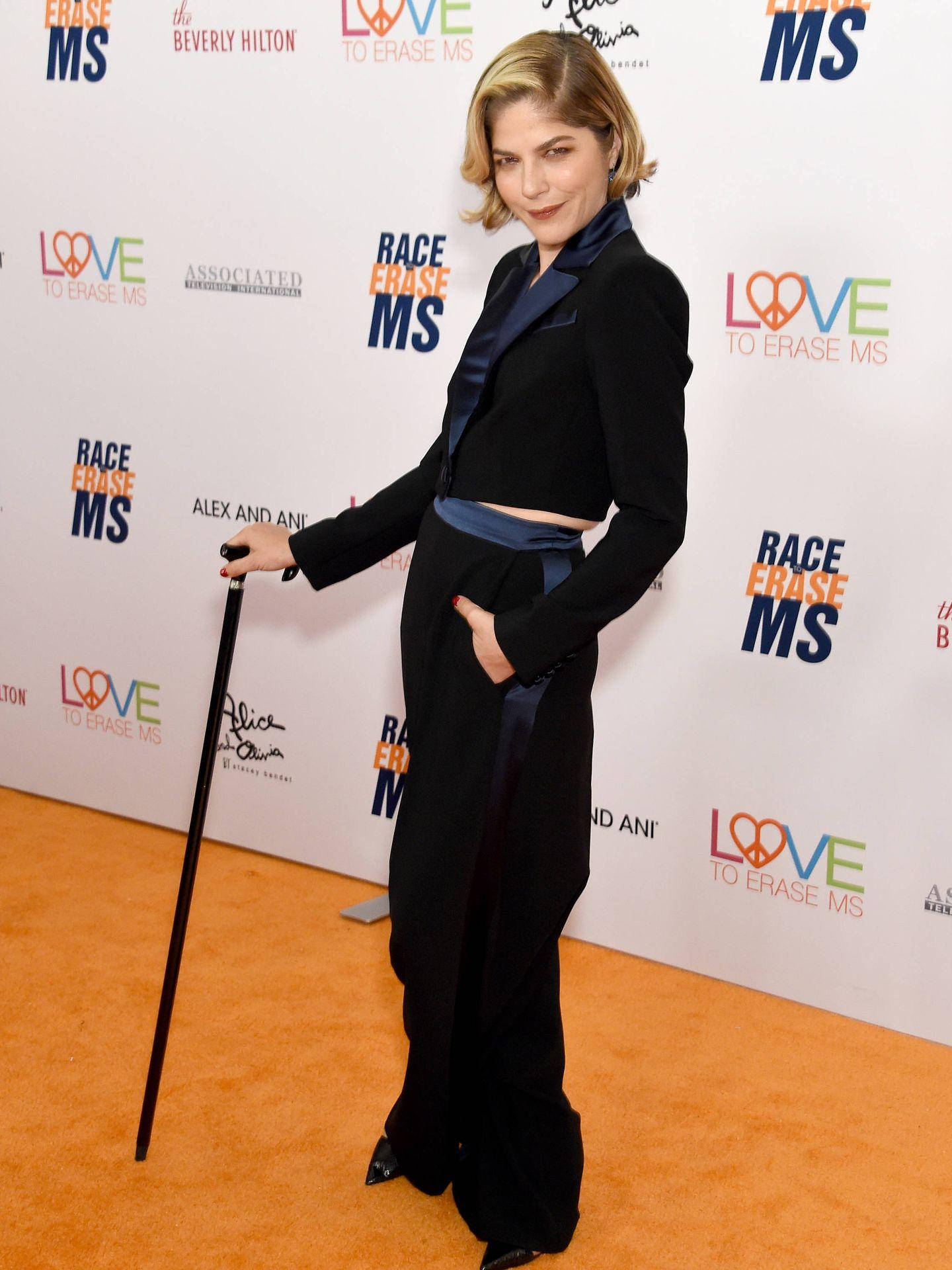 Selma Blair, en la gala 26th Annual Race To Erase MS. (Getty)