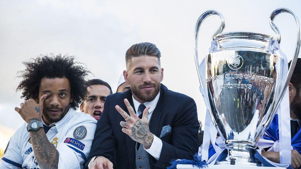 Sergio Ramos y Marcelo seguirán siendo los 'jefes' del vestuario del Real Madrid