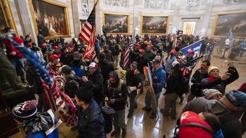 EEUU, en vilo: toque de queda en Washington tras la invasión del Capitolio por trumpistas