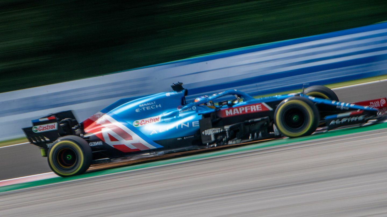 La clara línea ascendente del equipo Alpine F1 ha sido clave en la decisión de Fernando Alonso de renovar.