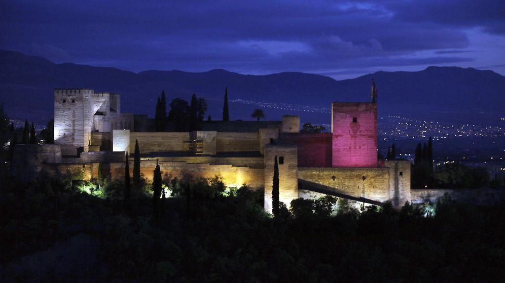 Foto: La Alhambra de noche. (EFE)