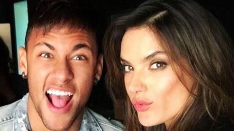 Neymar, Alessandra Ambrosio y un extraño impulso por bailar a lo loco