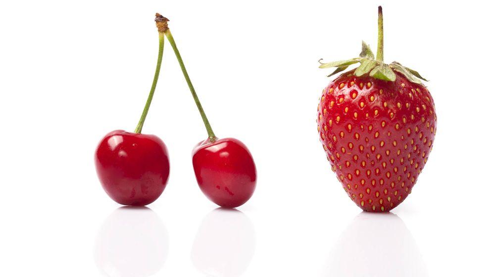 Foto: Fresas y cerezas típicas de mayo. (iStock)