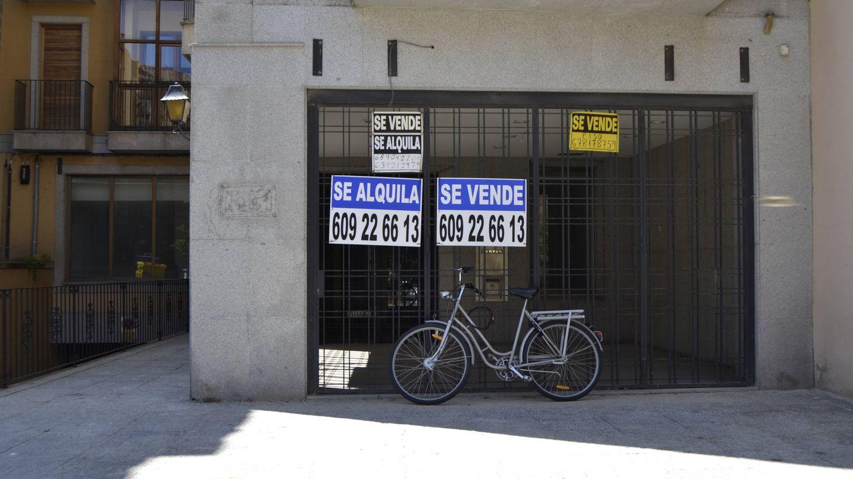 Los carteles de venta se multiplican por toda la ciudad. (M.Z.)