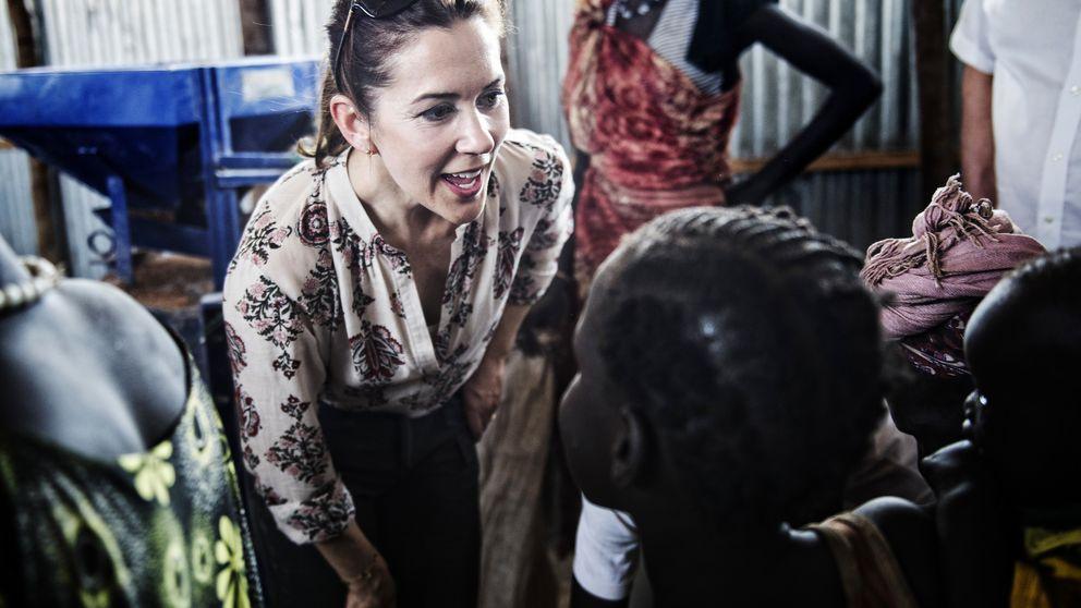 La princesa Mary de Dinamarca muestra su lado más humanitario en Etiopía
