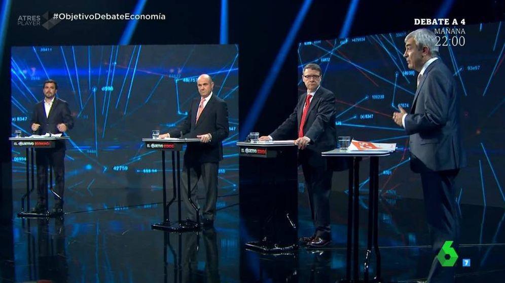 Foto: El debate económico de 'El Objetivo'